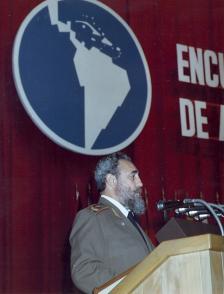 discurso en la clausura del Encuentro sobre la Deuda Externa de América Latina