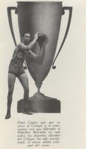 Fidel Castro Ruz, mejor atleta 1945