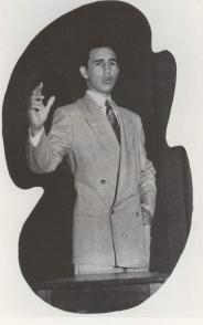 Fidel Castro Ruz en el Colegio de Belén, 1943