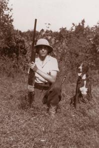 Fidel Castro Ruz en Birán, 1943