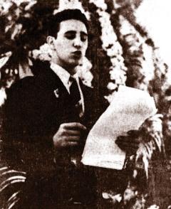 Fidel Castro Ruz en el contexto de  sus luchas estudiantiles,1946