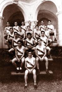Fidel Castro Ruz, equipo de pista 1943