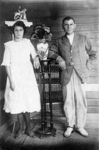 Los padres de Fidel Castro Angel Castro y Lina Ruz