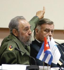 """Fidel Castro Ruz en la Conferencia Mundial """"Diálogo de Civilizaciones"""""""