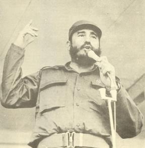 Fidel Castro Ruz en Guinea 3 de mayo de 1972