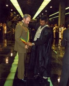 """Fidel Castro recibe Distinción """"Caballero de la Orden de la Estrella de Ghana, Clase Honoraria"""""""