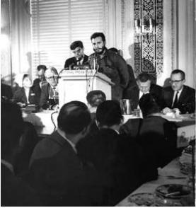 Fidel Castro in National Press Club, United States, 1959