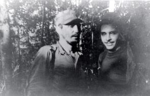 Fidel Castro junto a Frank País Foto: Oficina de Asuntos Históricos del Consejo de Estado.