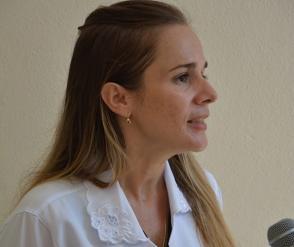 la doctora Indira del Rosario Sánchez Rodríguez, quien participó en el programa Más Médicos en Brasil. Foto: Roberto Jesús Hernández/ ACN.