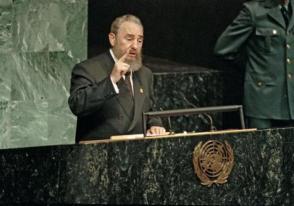 Fidel realizó cuatro visitas a la onu: en 1960, en 1979, en 1995 y en el 2000. Foto: Archivo de Granma
