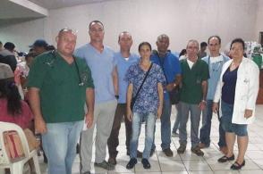 La noche en que los medicos cubanos llegaron al Hospital de Escuintla a enfrentarse a la tragedia. Foto: Brigada Médica Cubana en Guatemala