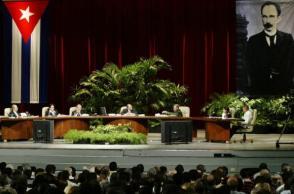 Intervención de Fidel en la Mesa Redonda Especial en homenaje al Héroe Nacional de Cuba, José Martí, en el teatro Karl Marx, el 19 de mayo de 2005.