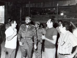 Fidel dio seguimiento permanente a la creación del Palacio de Convenciones. Foto: Liborio Noval