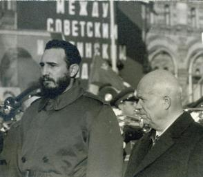 Comandante en jefe Fidel Castro visited several Soviet Republics in 1963. Photo: Granma Archives