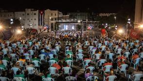 Gala por el cuarto aniversario de la desaparición física del Comandante en Jefe Fidel Castro Ruz. Foto: Abel Padrón Padilla/Cubadebate