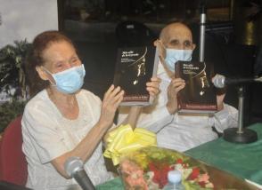 Presentazione del Libro /Al di là della legenda/,degli autori Estela Bravo, Ernesto Bravo e Olga Rosa Gomez. Photo: Ismael Batista