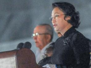 presidenta de la Asamblea Nacional de Vietnam, Nguyen Thi Kim Ngan expresa: «Nosotros los vietnamitas llevamos grabada en el corazón la frase inmortal expresada por Fidel: por Vietnam, Cuba está dispuesta a dar hasta su propia sangre»