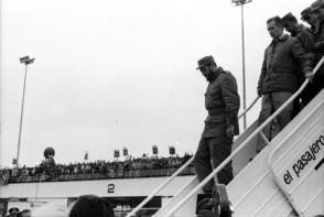Fidel llegó a Perú el 4 de diciembre de 1971, en una escala de su viaje de regreso de una gira por Chile. Foto: Jorge Oller
