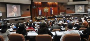 Desde las 9 de la mañana de este martes 27 de diciembre de 2016, sesiona en el Palacio de Convenciones la Asamblea Nacional del Poder Popular en su octava legislatura.