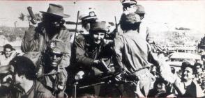 Entrada de Fidel a La Habana. Foto: Archivo.