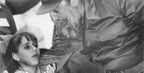 Fidel siempre acompañó a las más jóvenes generaciones. Foto: Archivo de JR Foto: Juventud Rebelde