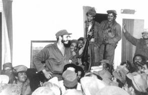 Fidel en la liberación de Palma Soriano, el 27 de diciembre de 1958