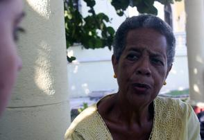 Elina Hernández Galarraga, alfabetizadora.