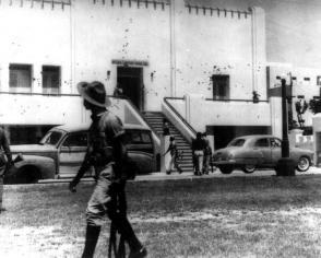 El cuartel Moncada se convirtió en sede del horror. Foto: Archivo Granma