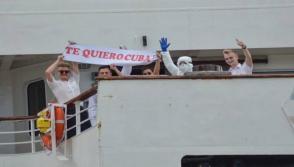 Barco británico: Foto: Ricardo López Hevia/Granma.