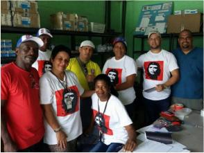 Integrantes de la Brigada Médica Cubana en Haíti