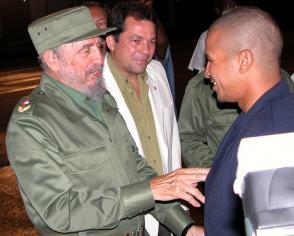 Un diálogo inolvidable para Cepeda con el líder de Revolución cubana tras ganar el oro olímpico de Atenas 2004.