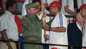 Fidel y Cepeda. Foto: Alex Castro.