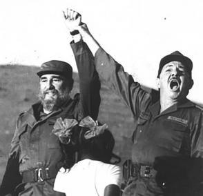 18 de diciembre de 1956: Reencuentro de las fuerzas rebeldes en Cinco Palmas Foto: Archivo