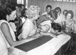 En el acto terrorista contra el avión civil de Cubana de Aviación, el 6 de octubre de 1976, murieron las 73 personas que viajaban a bordo