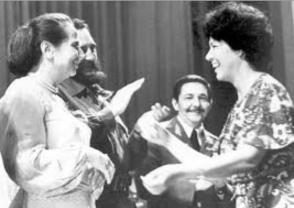Una estrecha amistad, nacida de los principios y la lucha revolucionaria, unió a la combatiente Asela con Vilma, Fidel y Raúl. Foto: Archivo de Granma