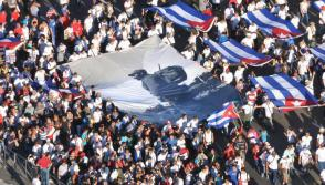 Hugo Chávez defined Fidel as the Photo: Jorge Luis González