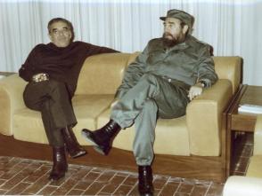 Una profonda amicizia legò Fidel a Gabriel García Márquez. Foto: Archivio di Granma.