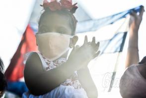 Tangana nel Trillo, con la presenza di Miguel Diaz Canel. La Rivoluzione Cubana ha messo al centro del sistema politico della nazione la dignità della vita e questo è quello che oggi è in gioco. Photo: Ariel Cecilio Lemus