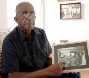 Alcides Sagarra tuvo en su etapa como entrenador de boxeo varios encuentros con el Comandante en Jefe
