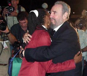 El Comandante en jefe solía recibir a las delegaciones cubanas que regresaban exitosamente de eventos deportivos en el exterior