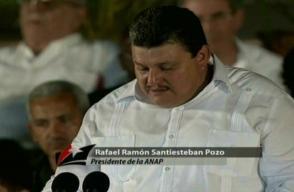 Rafael Ramón Santiesteban Pozo, Presidente de la Asociación Nacional de Agricultores Pequeños