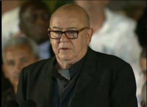 Miguel Barnet Lanza, presidente de la Unión Nacional de Escritores y Artistas de Cuba