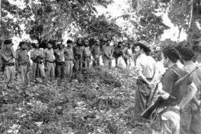 Permanente resultó el vínculo de Raúl con sus tropas a lo largo del Frente. Foto: Cortesía del Complejo Histórico Segundo Frente Oriental Frank País