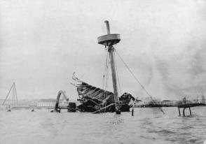 La explosión del buque Maine sirvió de pretexto para la entrada de Estados Unidos en la guerra contra España