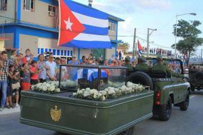 La caravana en Holguín. Foto tomada de Ahora.