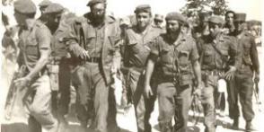 Fidel en la primera línea de combate