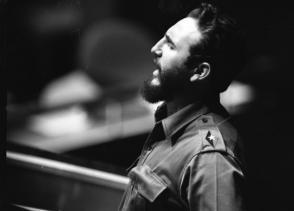 Pronuncia palabras en la plenaria Nacional del INDER, el 19 de noviembre de 1961