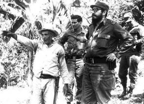 Fidel visitó el Escambray para alentar los planes de desarrollo en esas serranías. Foto: Escambray