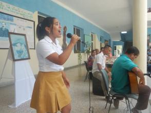 Homenaje a Fidel Castro en recordación de la inauguración de la Escuela de Arte en Granma