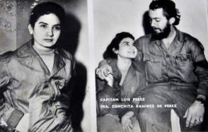 Los excombatiente del Ejército Rebelde, Luis Jesús Pérez Martínez, capitán y Juana Bautista de la Concepción Ramírez Figueredo (Conchita), casados en boda rebelde oficiada por el Dr. Fidel Castro. Foto: Madelin Ramírez/ ACN.